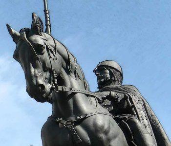 Festividad De San Wenceslao, El Gran Olvidado. Escultura
