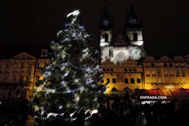 Árbol de Navidad Ciudad Vieja