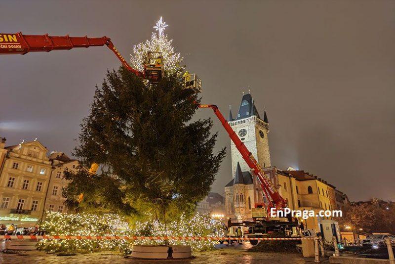 Primer-dia-decoracion-arbol-de-Navidad-Praga