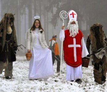 Hoy llega Mikuláš y los niños no saben que esperar