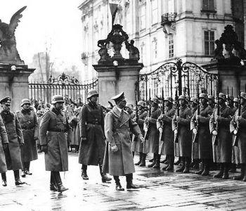 Incursión Nazi en tierras checo-moravas