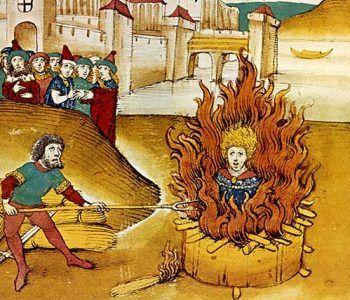 Jan Hus 606 años después de ser quemado en la hoguera